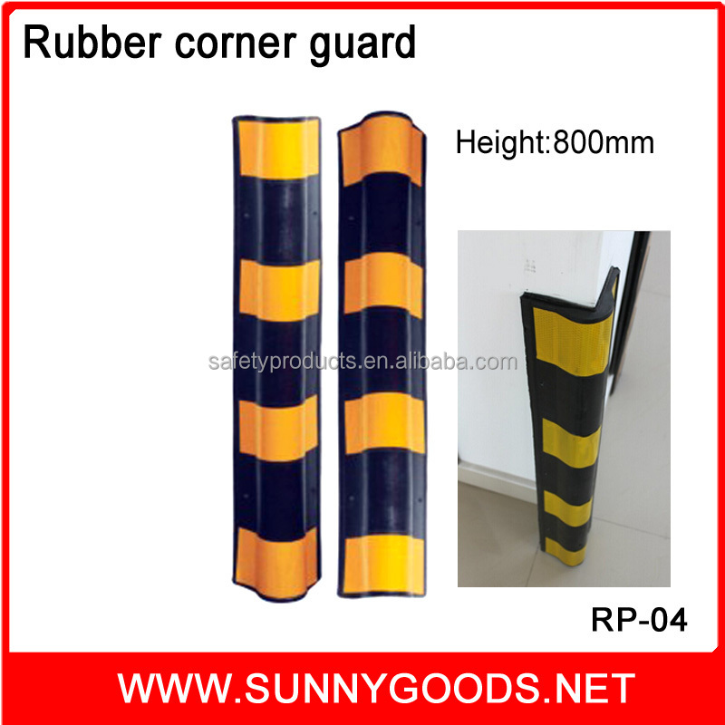 Rubber protector for wall angle wall corner guardsRP-04