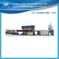 Cable protection pipeline making machine
