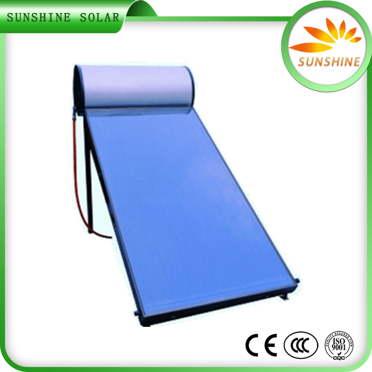 Non-Pressurized Common Glass Solar Flat Panle Solar Water Heater