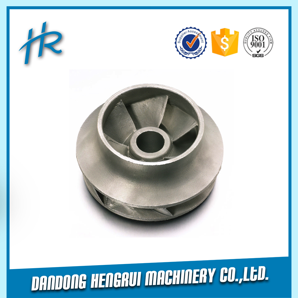 China manufacturer cast stainless steel impeller with Silica sol investment casting process