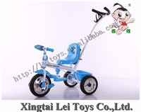 beautiful 2 in 1 baby tricycle / good price children tricycle with safe belt and pushbar / cheap kids tricycle for sale