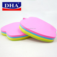 apple shaped custom Sticky notes