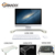 Computer Monitor USB Riser and Laptop Stand, Ergonomic Flat Screen Display Mount, Desktop Stand and Organizer
