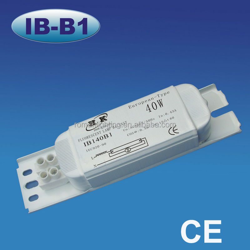 magnetic ballasts for t8 fluorescent lamps