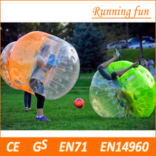 Promotional price!!! TPU/PVC 1.2m/1.5/1.7m inflatable human bubble ball, bubble soccer football, bumper ball