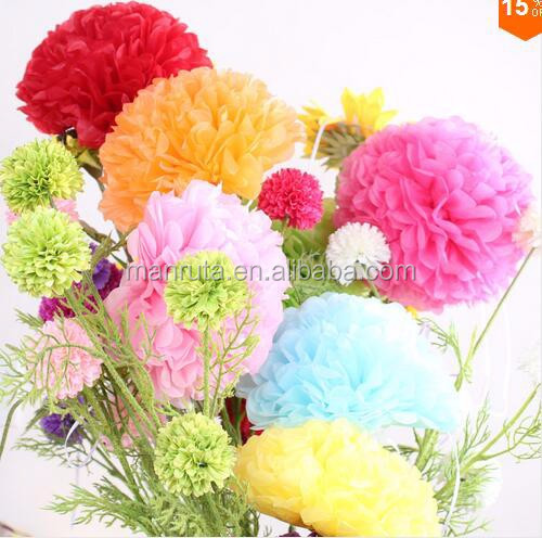 best wholesale online handmade tissue paper pom poms for wholesale online and OEM