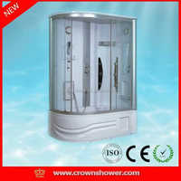New design high quality steam sauna shower room sunlight shower room