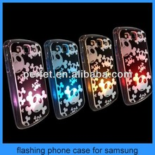 Light up phone case for samsung galaxy s4 i9500 samsung galaxy s3 i9300 led case