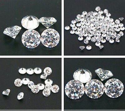 European Machine Star Cut Synthetic CZ Stone for Signity Diamond
