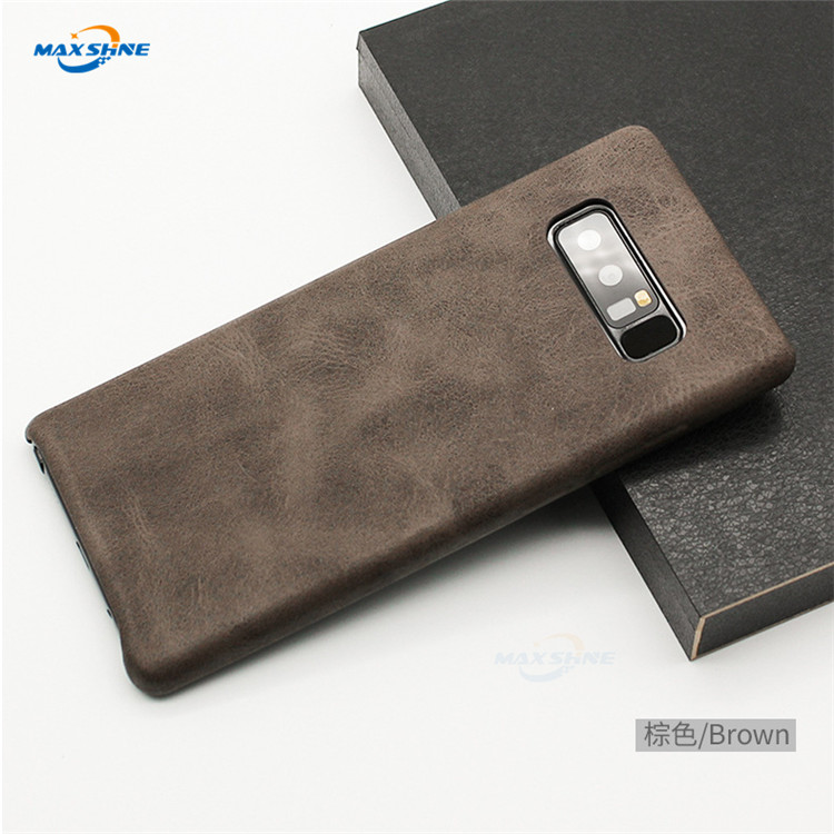 Maxshine Pu Leather For <strong>Shock</strong> Proof Phone Case For Samsung Galaxy S8 S9 S10 Note 8 9 Phone Case