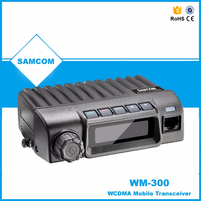 SAMCOM SIM card GSM WCDMA WM-300 PTT Mobile Radio