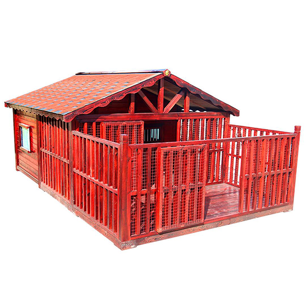 Outdoor large waterproof anti-corrosion wooden dog house