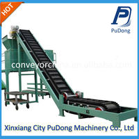 Large angled best price candy conveyor belt