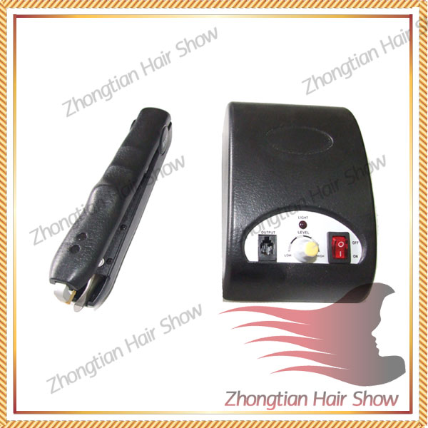 cold fusion ultrasonic hair extension machine/connector/loof guns