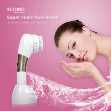 China supplier ABS Electric Face Brush, 2015 Hot Selling Product, Deep Pore Cleansing, Suitable for All Skin
