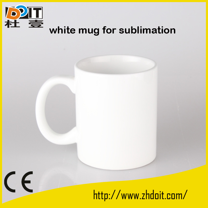 printable plastic/ceramic mugs sublimation wholesale,blanks sublimation cups