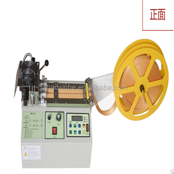 Polyester Nylon Ribbon Webbing Hot Cutting Equipment