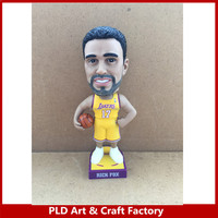 High Quality Polyresin Custom NBA Bobble Head