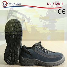 EN 345 anti slip protection sport shoes suede leather safety shoes
