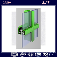 Competitive price 6000 series anodized aluminium profile for curtain wall frame