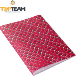 TOPTEAM High Quality PP Display Book, Hot Selling A4 Clear Pocket Book With Fancy Print