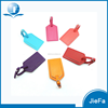 Manufacture customize logo printing real luggage tag leather