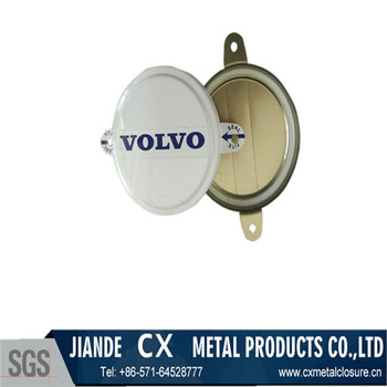 Customized tinplate tab seal for drum