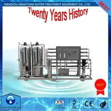 complete set of WTRO SS304, 316L, FRP 3000LPH water treatment equipment
