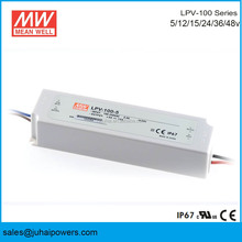 MEAN WELL LPV-100 -5 IP67 Waterproof Electronic 5V 100w Constant Voltage Single Output LED Driver