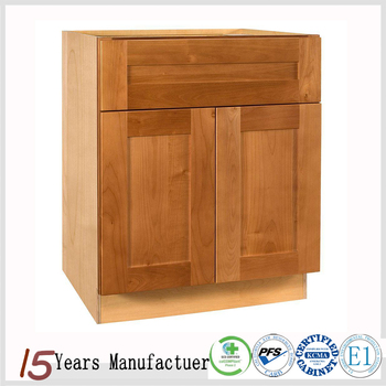 Maple Wood Ready Made Modular Shaker Style Kitchen Cabinet Design For Sale