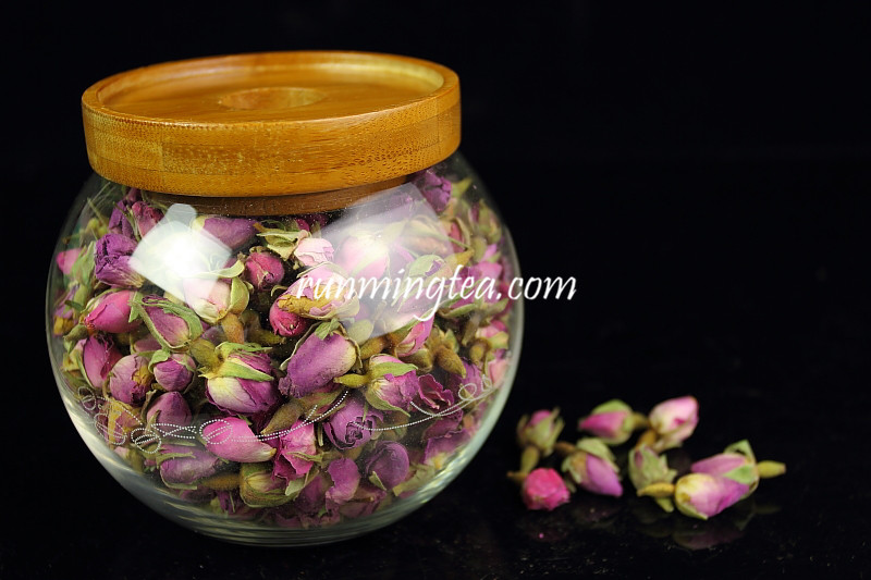 Top quality Borosilicate glass jar with wood lid