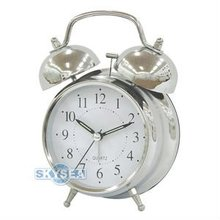 4.5 inches metal twin bell alarm clock