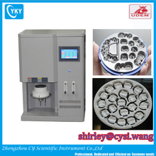 Dual function dental heat sintering oven for soft metal Cobalit Chromium Alloy and zirconia blocks