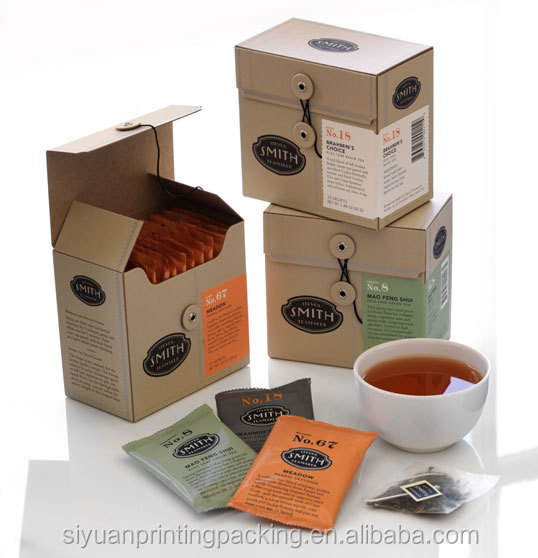 New new products chinese tea bags paper packaging boxes