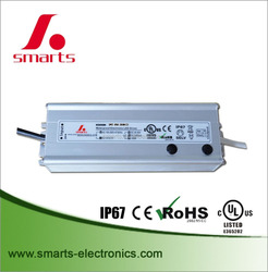 30-50v DC dimmable LED driver 2000mA 100w 0-10v dimming