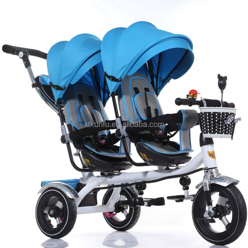 European standard baby stroller toy motorcycle with canopy