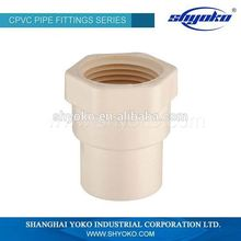 China high quality CPVC pipe fittings for for telescopic tube