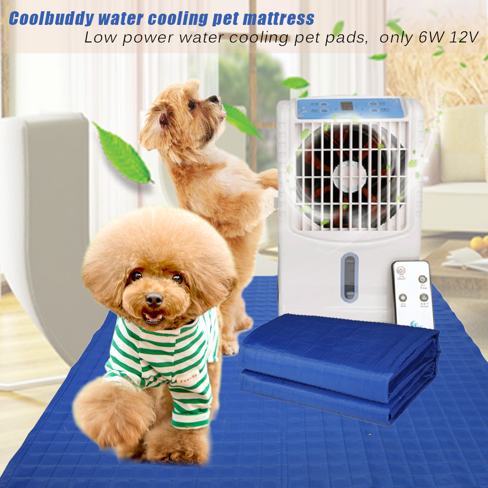 pet pad with self warming selft cooling functions