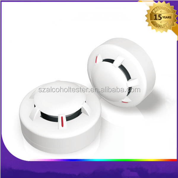 Smoke Detector with LED indicator/High quality 9V independent battery operated somke detector