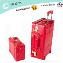 Premium PU Leather Luggage & Suitcase Set Cherry Fashion on set Travel Luggage & Suitcase Hot Sale-HB-080