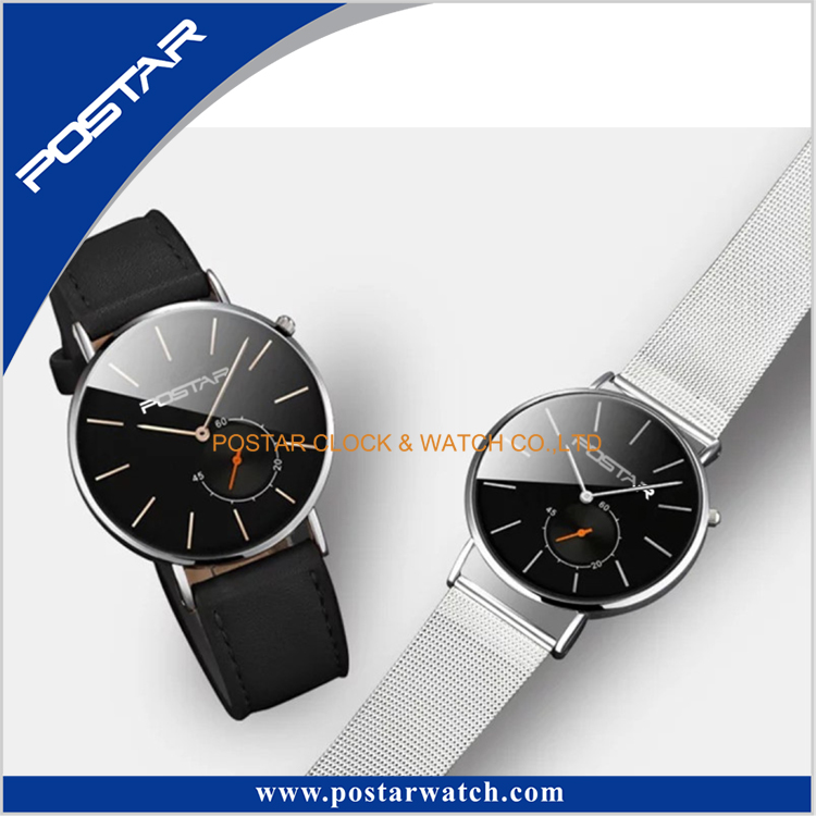 Fashion Special Quartz Brief Dial OEM Free Design Thin Wrist Watch