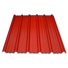 corrugated color fast synthetic upvc types roofing tiles