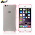 New product shockproof clear PC+TPU cover proetct case for iphone6