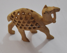 Handicraft Traditional Handmade Decorative Hand Carved Wooden Camel