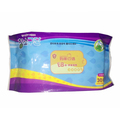 Sensitive soft material aloe baby wipes perfume