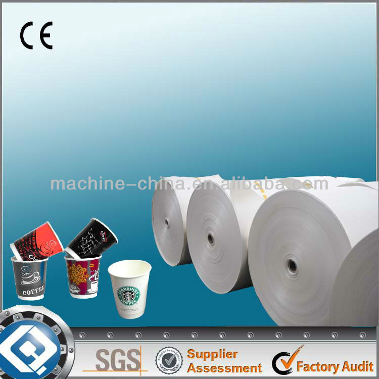high quality pe coated paper for paper cup