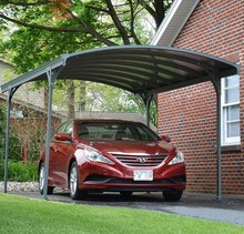 good quality UV coated all colors polycarbonate carports prices