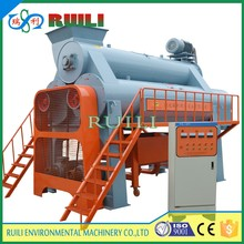 Automatic 3 Barrel PET PP PVC PE PS EPS Plastic Flakes Recycling Friction Wash Machine