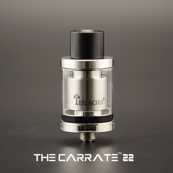 2016 Tesla New Arrival RTA Atomizer Original Design Tesla Carrate 2ML RTA Atomizer with Wholesale Price