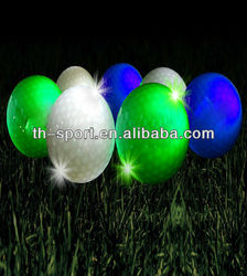 Unique Led Golf Balls Light Outdoor Using